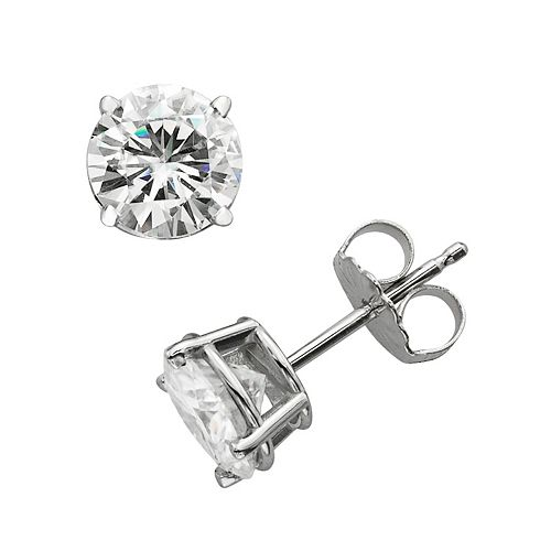 7b5b440a1 Forever Brilliant 14k White Gold 2-ct. T.W. Round-Cut Lab-Created ...