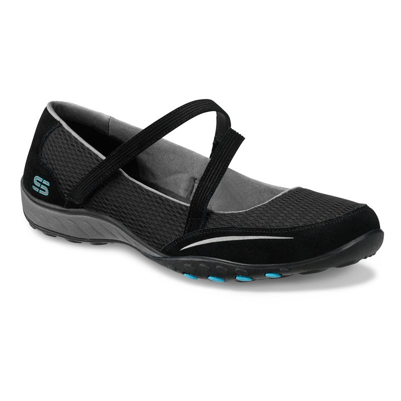 Skechers relaxed fit quittin time mary jane flats women