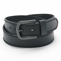 Men's Dickies Double-Stitched Faux Leather Belt