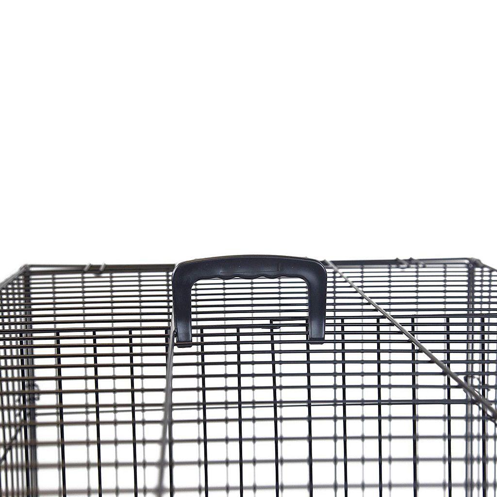 Majestic Pet 48-in. Folding Pet Crate