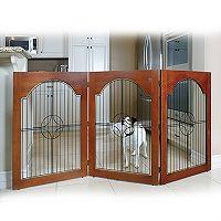 Majestic Pet Universal Free-Standing Pet Gate