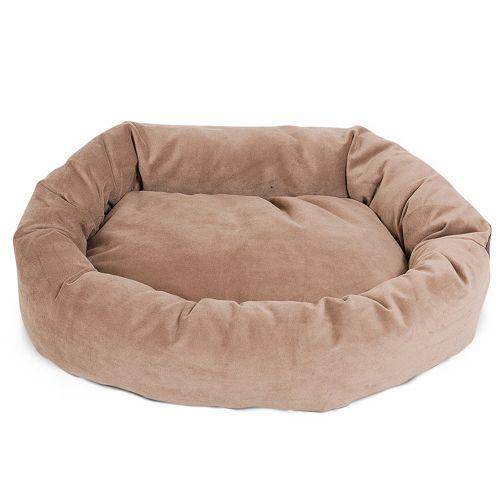 Majestic Pet Microsuede Bagel Pet Bed - 32'' x 23''