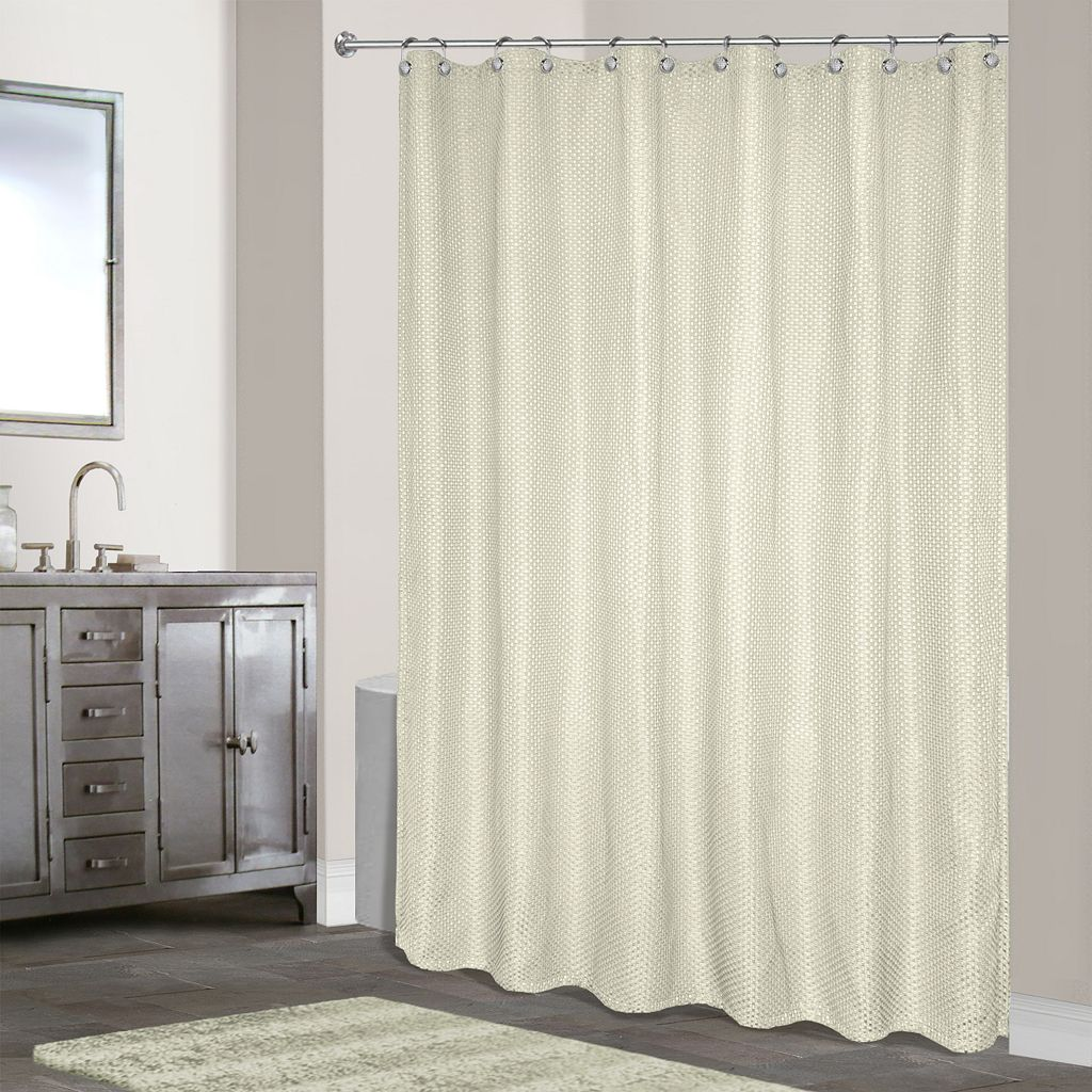 Hamden Fabric Shower Curtain