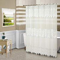 Valerie Fabric Shower Curtain