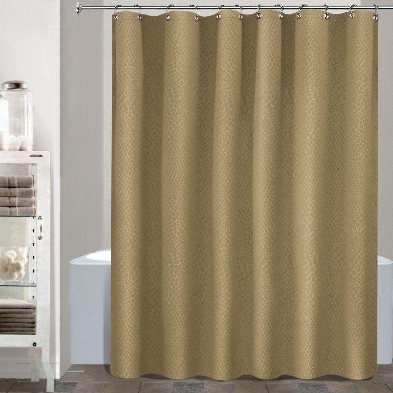 Waterproof Fabric Shower Curtain Liner 54 x 78