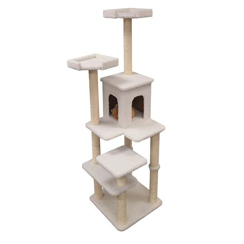Majestic Pet 66-in. Bungalow Cat Tree