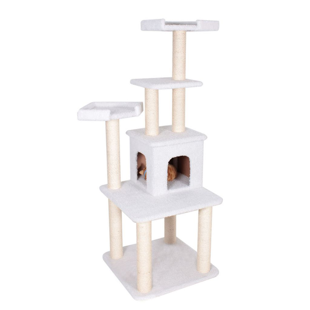 Majestic Pet 64-in. Bungalow Cat Tree