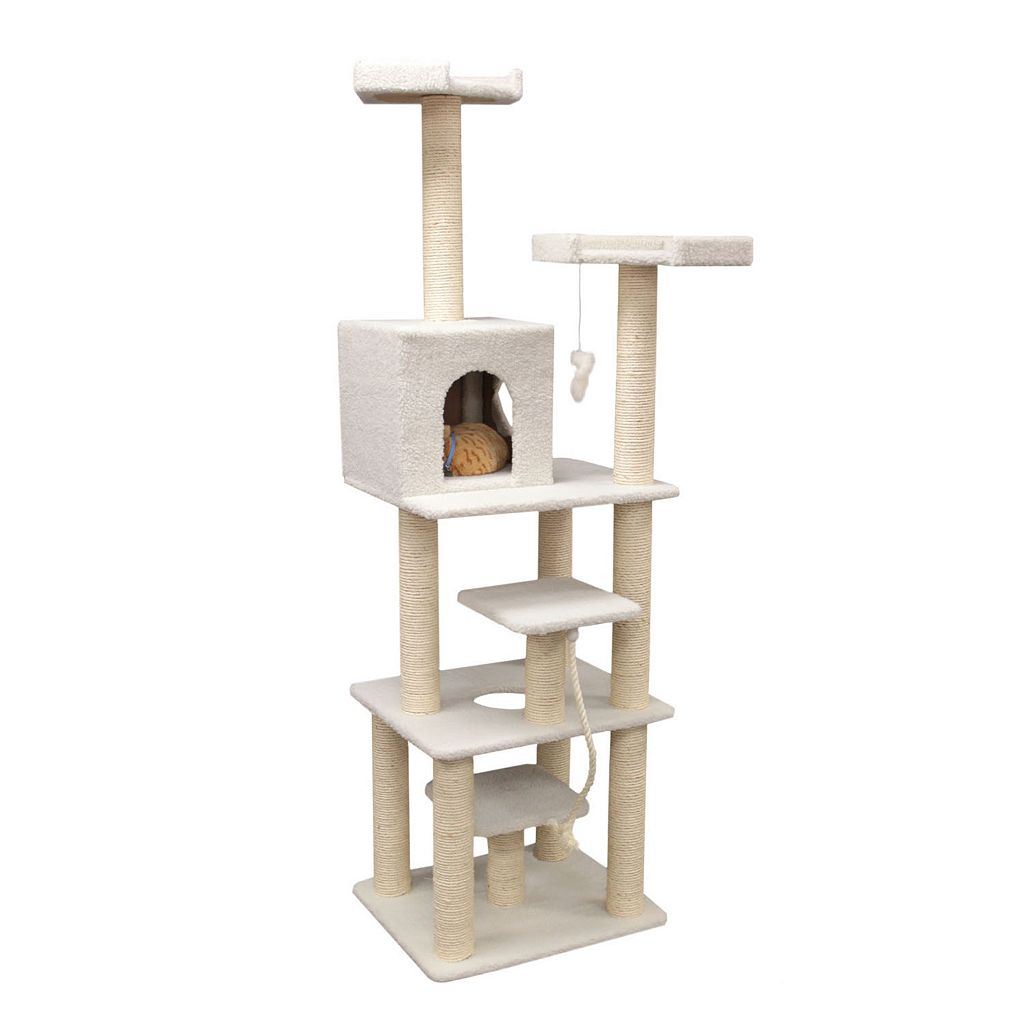Majestic Pet 78-in. Bungalow Cat Tree