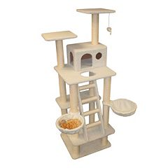 Majestic Pet 72-in. Bungalow Cat Tree