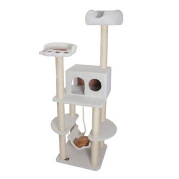 Majestic Pet 76-in. Bungalow Cat Tree