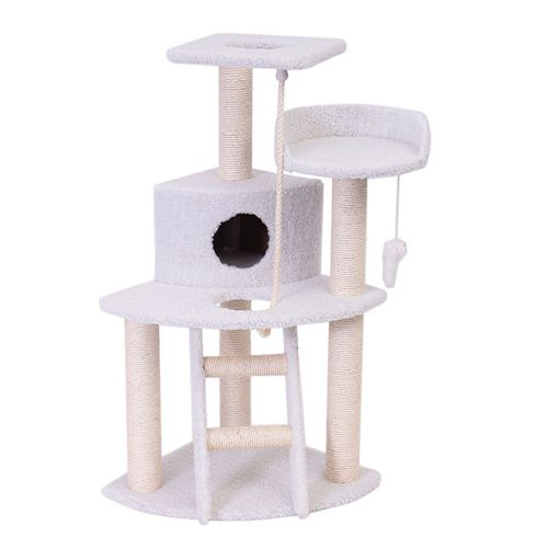 Majestic Pet 48-in. Bungalow Cat Tree