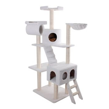 Majestic Pet 73-in. Bungalow Cat Tree