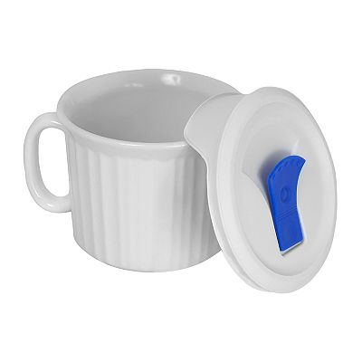 CorningWare French White Pop-Ins Mug