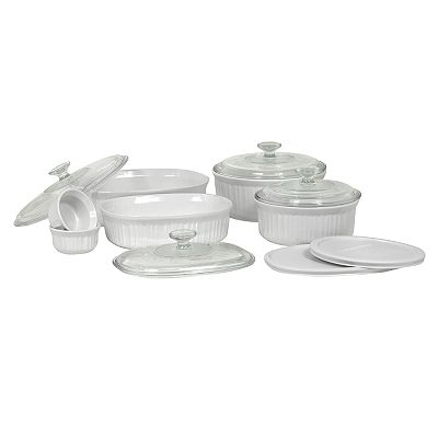 CorningWare 12-pc. French White Bakeware Set