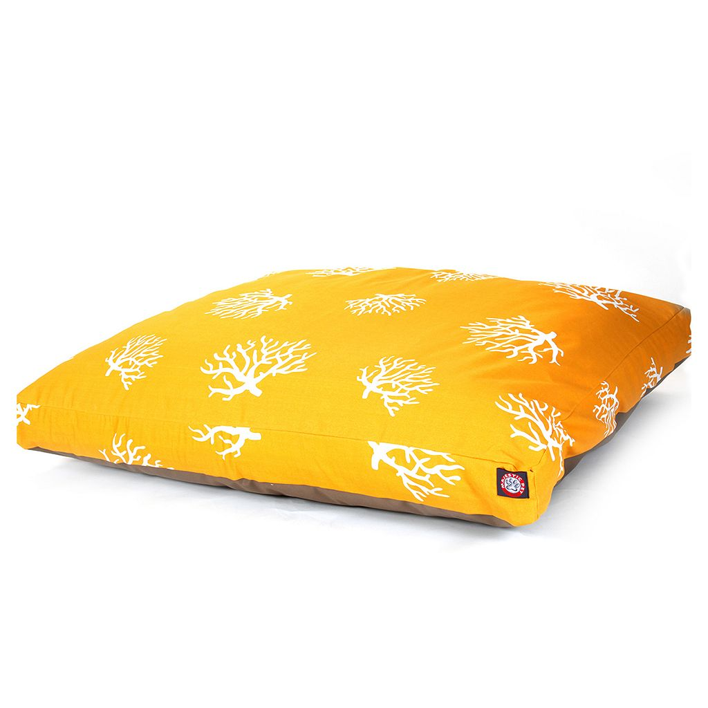 Majestic Pet Coral Rectangle Pet Bed - 50'' x 42''