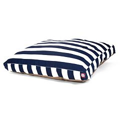 Majestic Pet Striped Rectangle Pet Bed - 36'' x 29''