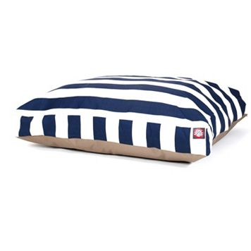 Majestic Pet Striped Rectangle Pet Bed - 44'' x 36''