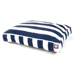Majestic Pet Striped Rectangle Pet Bed - 50'' x 42''