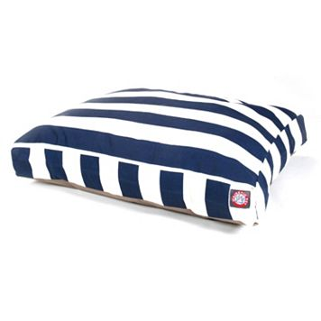 Majestic Pet Striped Rectangle Pet Bed - 50'' x 42''