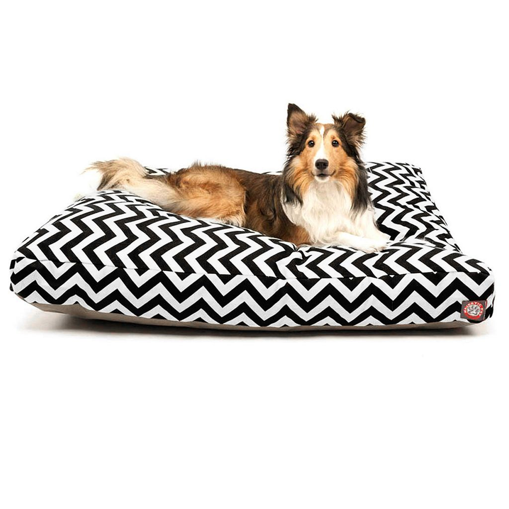Majestic Pet Chevron Rectangle Pet Bed - 36'' x 29''