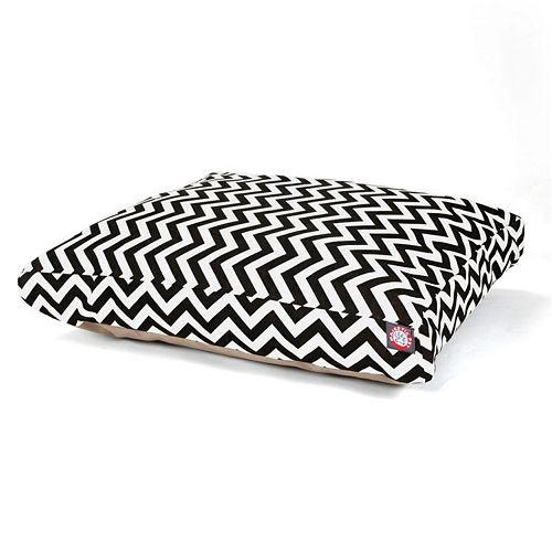 Majestic Pet Chevron Rectangle Pet Bed - 44'' x 36''
