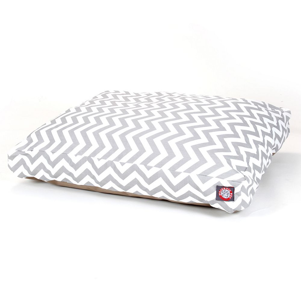 Majestic Pet Chevron Rectangle Pet Bed - 44'' x 36''