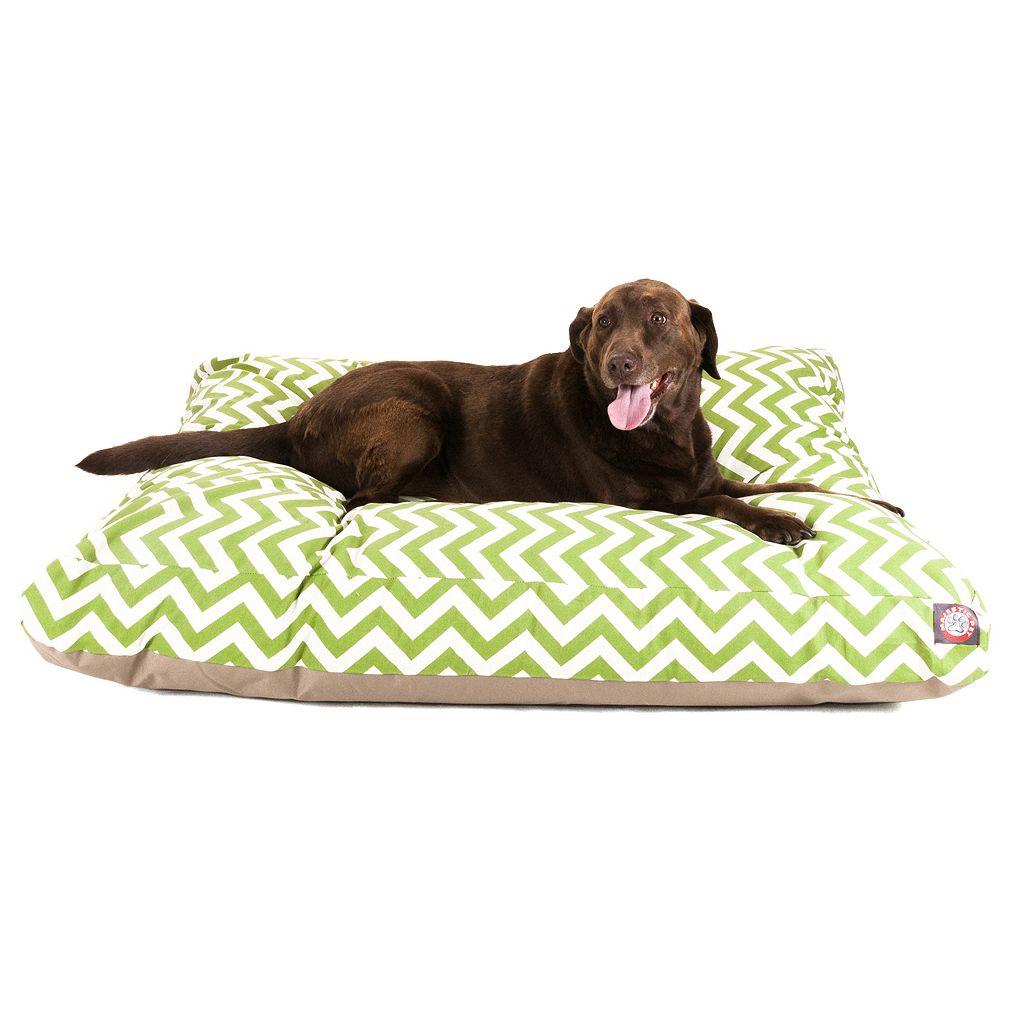 Majestic Pet Chevron Rectangle Pet Bed - 50'' x 42''