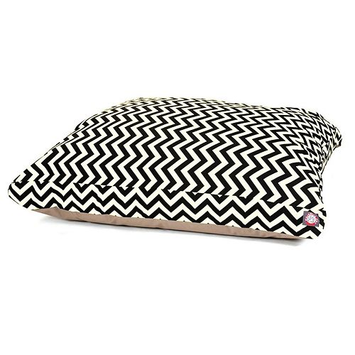 Majestic Pet Chevron Rectangle Pet Bed - 50'' x 42''