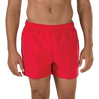 Men's Speedo Solid Surf Runner Volley Shorts
