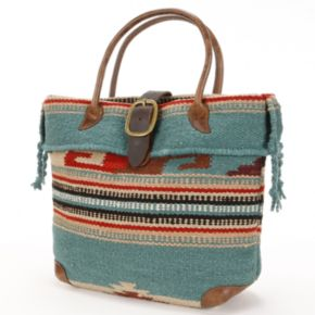 AmeriLeather Odyssey Wool Tote