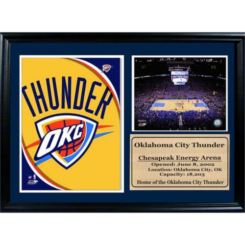 Oklahoma City Thunder Photo Stat Frame