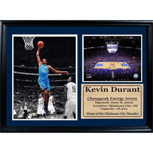 Oklahoma City Thunder Kevin Durant Photo Stat Frame