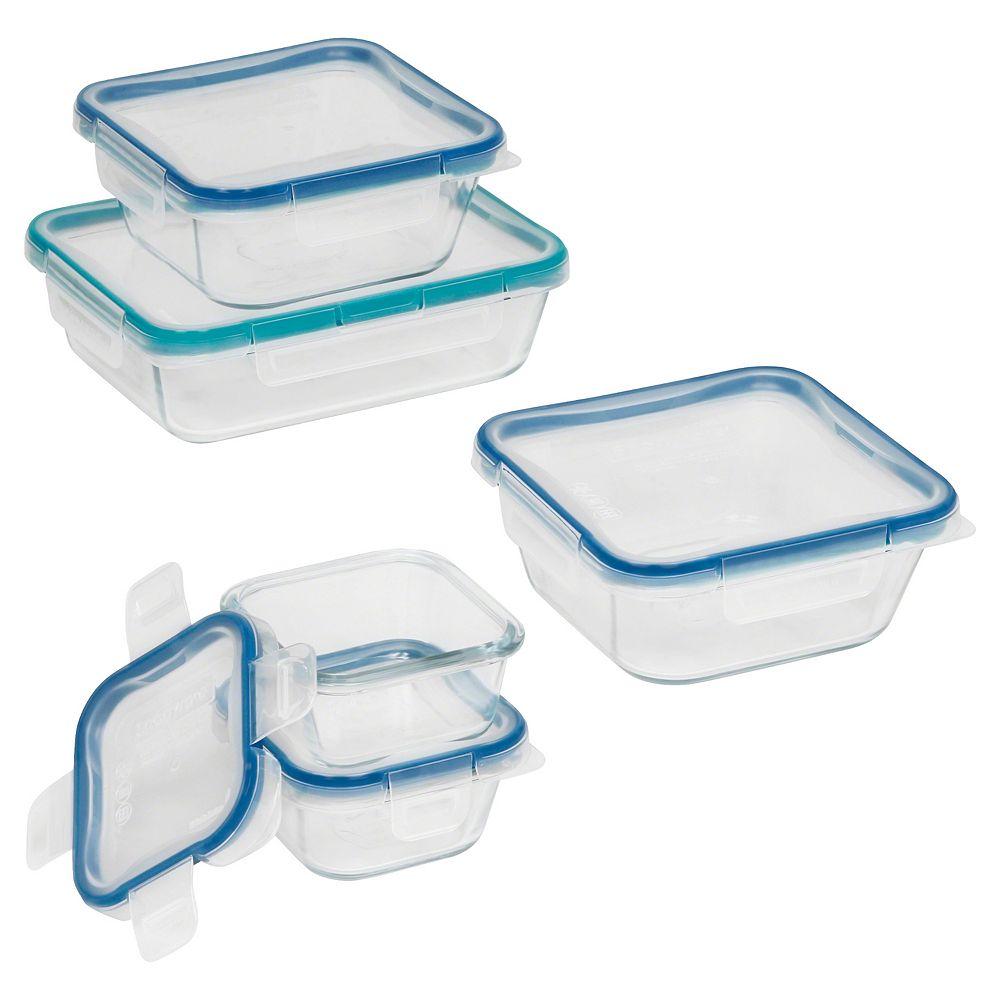 Snapware Total Solution Pyrex 10 Pc Food Storage Set