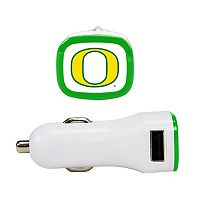 Oregon Ducks Dual USB Car Charger