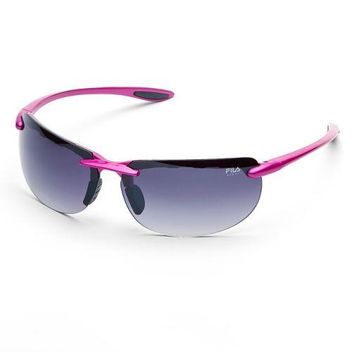 be52c7c817e FILA SPORT® Rimless Wrap Sunglasses
