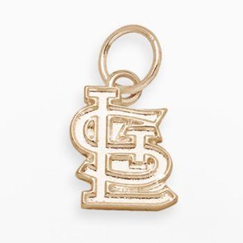 LogoArt St. Louis Cardinals 14k Gold Logo Charm