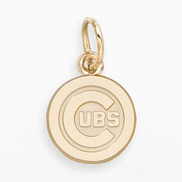 LogoArt Chicago Cubs 14k Gold Logo Charm