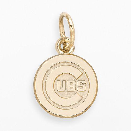 LogoArt Chicago Cubs 14k Gold Logo Charm