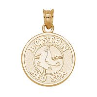 LogoArt Boston Red Sox 14k Gold Logo Charm