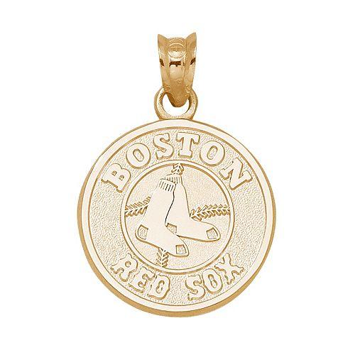 LogoArt Boston Red Sox 14k Gold Logo Charm