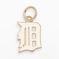 LogoArt Detroit Tigers 14k Gold Logo Charm