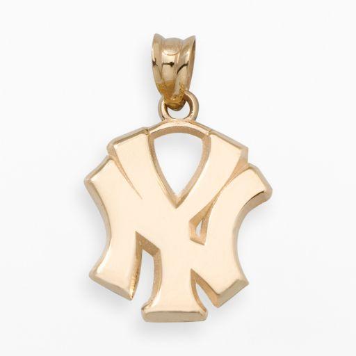 LogoArt New York Yankees 14k Gold Logo Charm