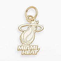 LogoArt Miami Heat 14k Gold Logo Charm