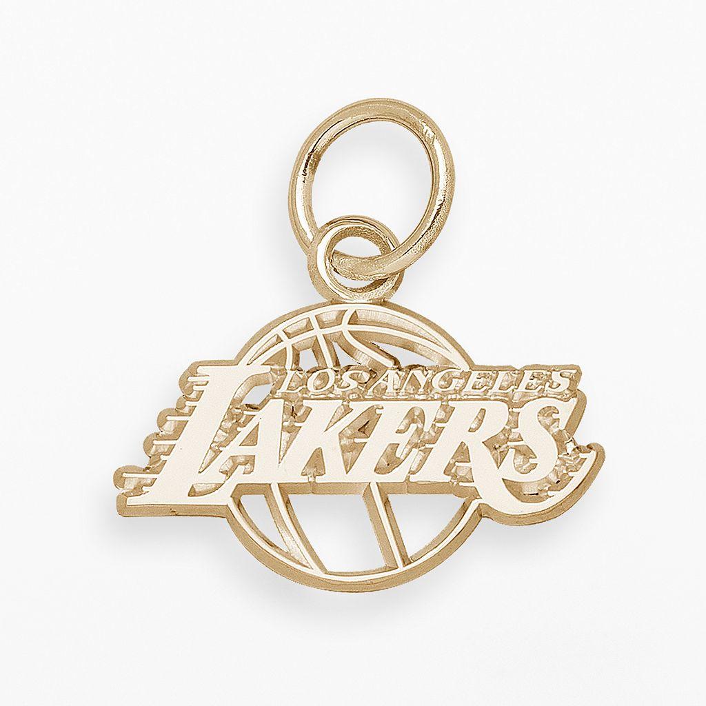 LogoArt Los Angeles Lakers 14k Gold Logo Charm