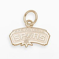 LogoArt San Antonio Spurs 14k Gold Logo Charm