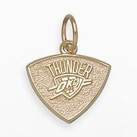 LogoArt Oklahoma City Thunder 14k Gold Logo Charm