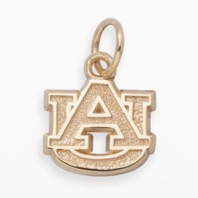Auburn Tigers 14k Gold Logo Charm