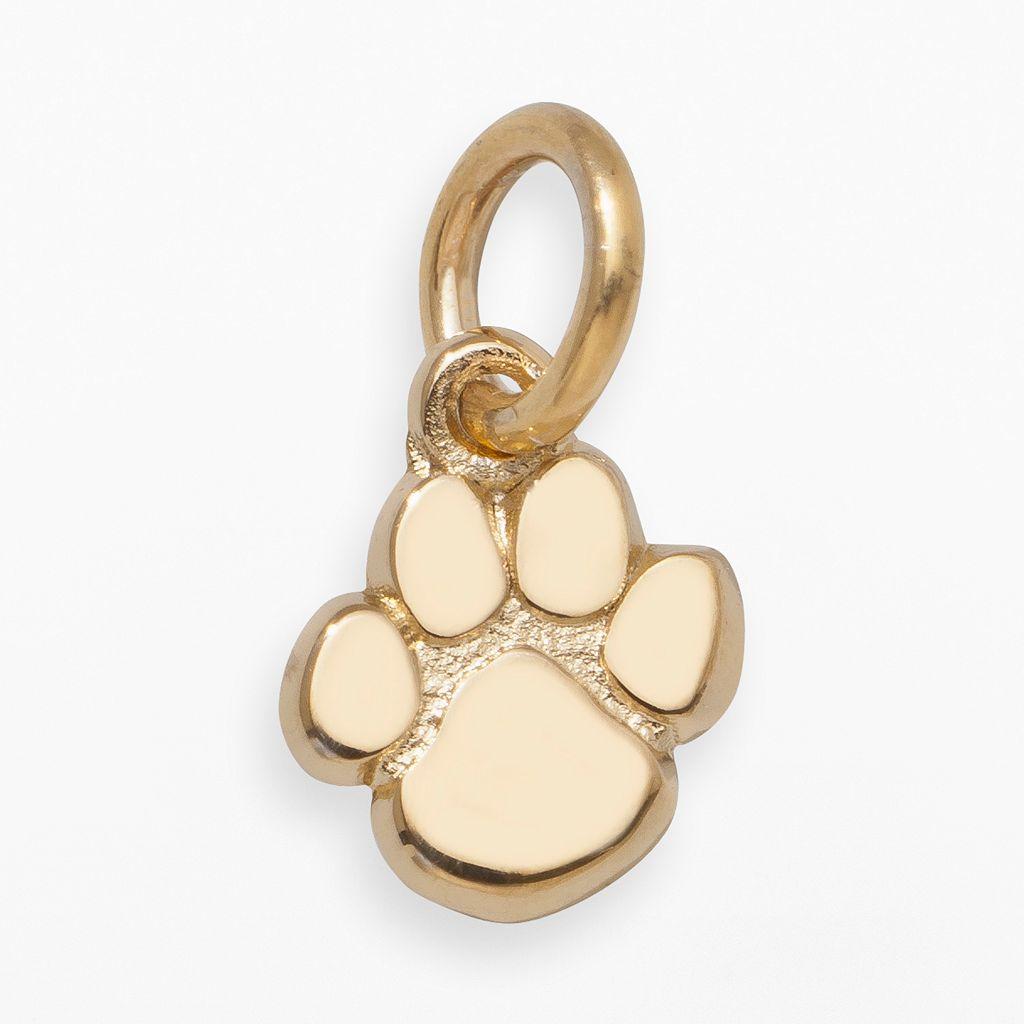 LogoArt Clemson Tigers 14k Gold Logo Charm