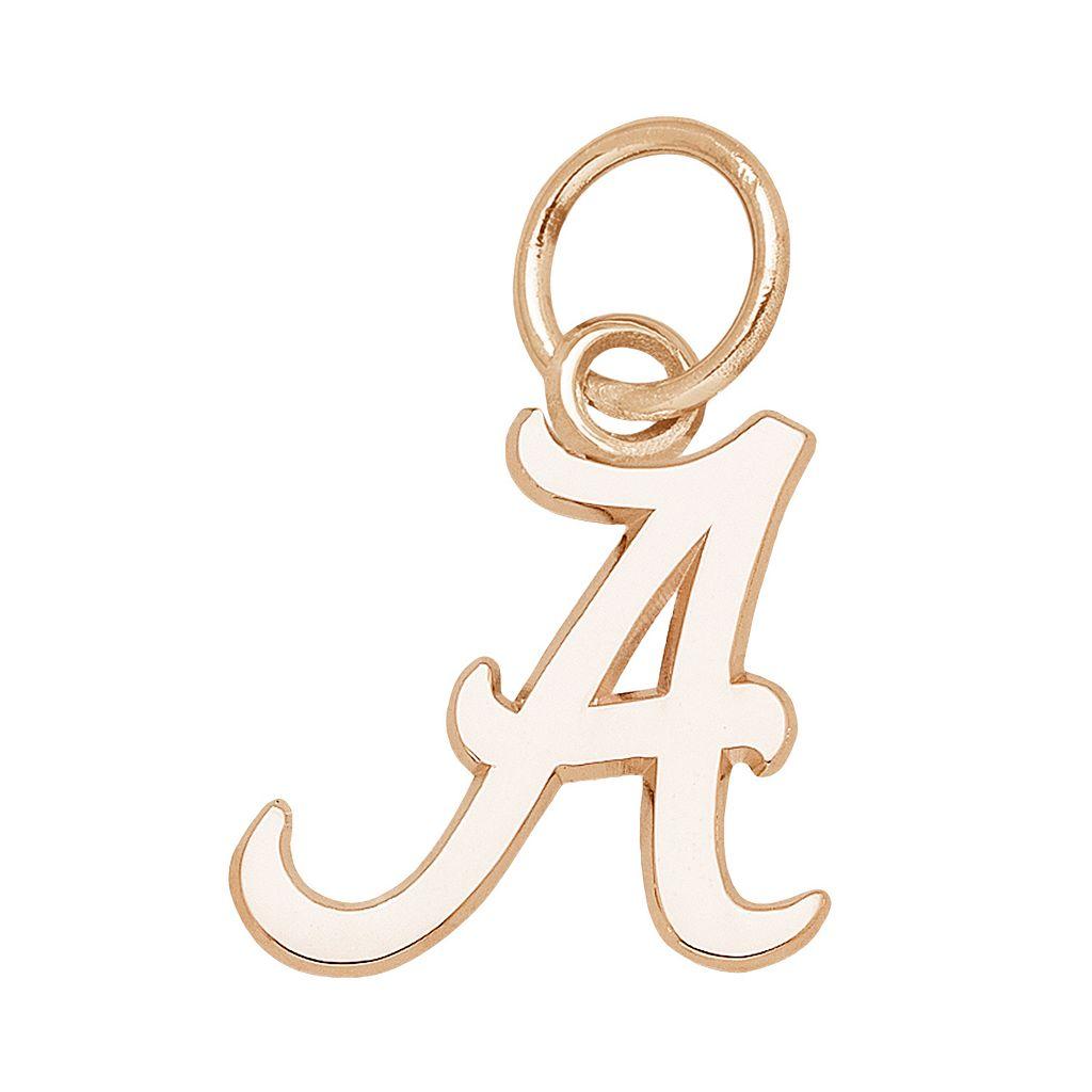 LogoArt Alabama Crimson Tide 14k Gold Logo Charm