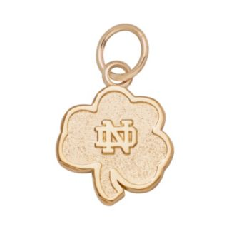 LogoArt Notre Dame Fighting Irish 14k Gold Logo Charm